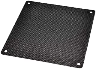 DGQ Ultra Fine Fan Filter 140mm PVC Black Computer Fan Grills PC Cooler Fan Dustproof Case Cover Computer Mesh - Pack of 10