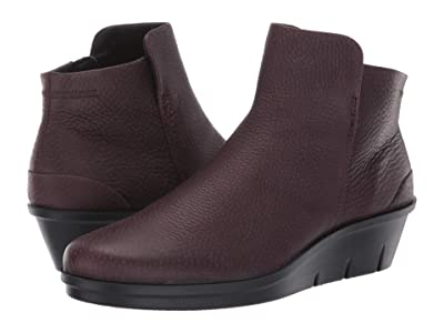 ECCO Skyler Wedge Bootie (Fig) Women