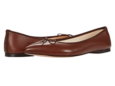 J.Crew Leather Gemma Ballet (English Chestnut) Women