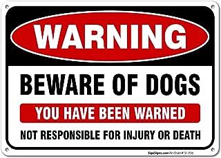 Best bad dog sign Reviews
