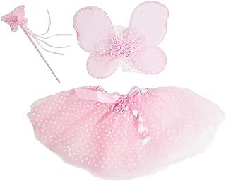 Bodysocks Girls Pink Fairy Fancy Dress Costume (6-8 Years)