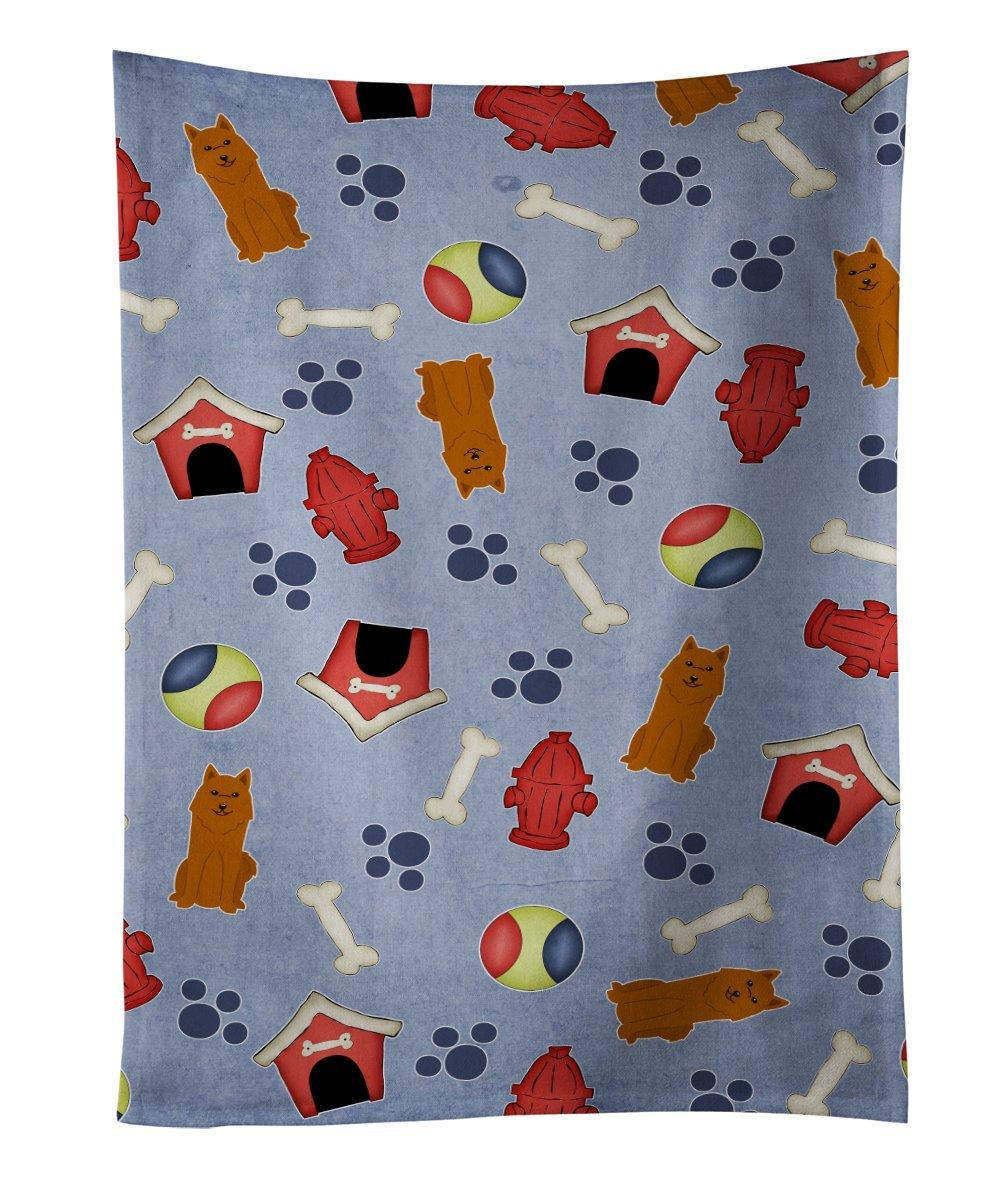 Multicolor Carolines Treasures Karelian Bear Dog Welcome Kitchen or Bath Mat 24x36 24Hx36W