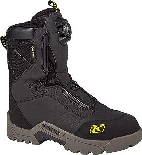 Klim Arctic GTX Men's Snocross Snowmobile Boots Boots - Black Size 12
