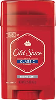 Old Spice Classic Stick Original Scent Deodorant 2.25 Oz (Pack of 2)