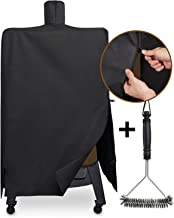 SHINESTAR SS73550 Grill Cover for Pit Boss PBV5P1 Pellet Smoker, Heavy Duty and Waterproof Grill Cover Fits for Pit Boss Model Series 4 PBV4PS1 Smoker with Zipper