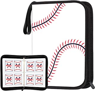 Sponsored Ad - POKONBOY Baseball Card Binder Sleeves for Trading Cards, Baseball Card Sleeves Card Holder Protectors Set f...