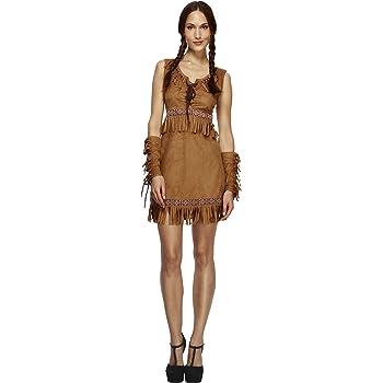 Smiffys SM32042-M- Disfraz de pocahontas para mujer, talla M ...