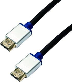LogiLink Premuim HDMI high speed med Ethernet-kabel svart 5.0m svart