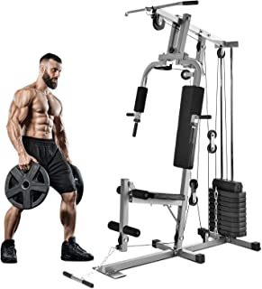 Murtisol Home Gym Fitness Station Multifunction Workout Machine Whole Body Exercise Training System