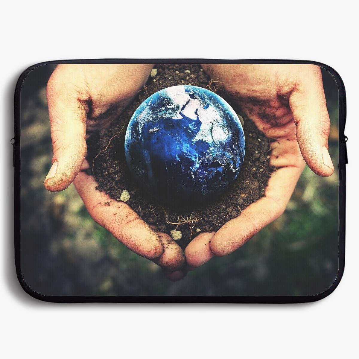 Homlife Laptop Sleeve Bag Earth Soil Planting Art 13//15 Inch Briefcase Sleeve Bags Cover Notebook Case Waterproof Portable Messenger Bags