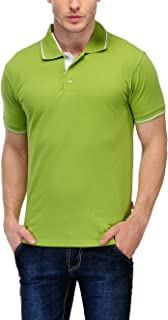 Scott Men's Organic Cotton Polo T-Shirt - Apple Green - SP15-ORGC-L