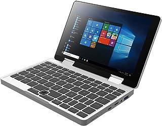 Falcon ノートパソコン タブレットPC 2in1 ( 8インチ 1200×1920 IPS液晶タッチパネル / Windows10搭載 / Pentium Silver J5005 1.5GHz 4コア / 8GBメモリ+ 256GB SSD / バックライト付きキーボード ) 360度YOGAモード シルバー (256GB SSD)