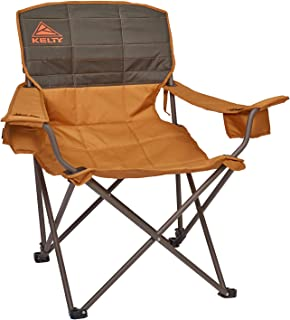 Kelty Deluxe Reclining Lounge Chair, Deep Lake/Fallen Rock – Folding Camp Chair for Festivals, Camping and Beach Days - Updated 2019 Model