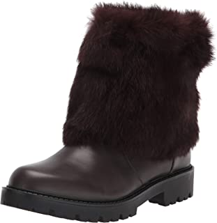 Charles David Women's Fur Collar Boot Fashion