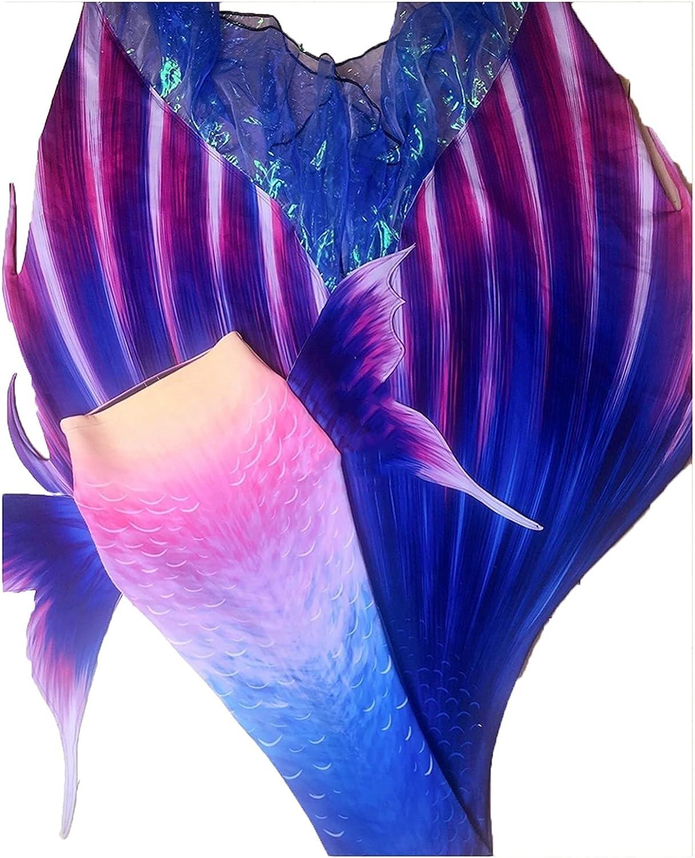 Ladies Mermaid Tail Swimming Cosplay 5 ☆ popular Tucson Mall 3-P Bikini Costume
