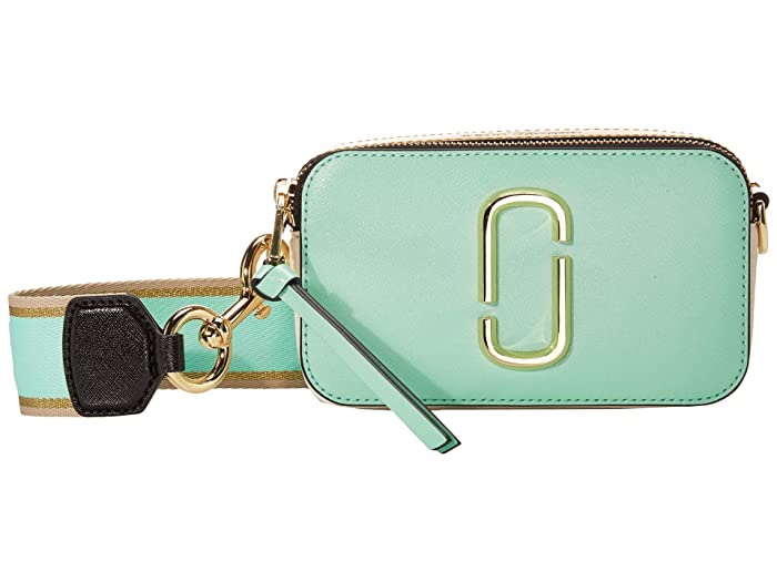 Marc Jacobs Snapshot (Mint Julep Multi) Handbags