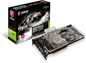 MSI Gaming GeForce GTX 1080 8GB GDDR5X SLI DirectX 12 VR Ready Graphics Card (GTX 1080 SEA HAWK EK X)