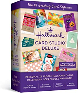 Hallmark Card Studio Deluxe-- New Version