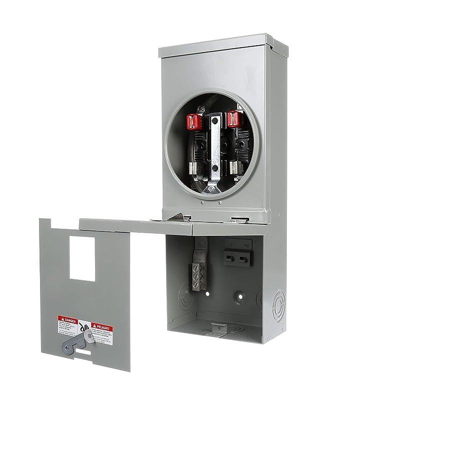 Siemens JC002CS Murray 100 Amp 2-Space 2-Circuit Combination Load Center, Sliver