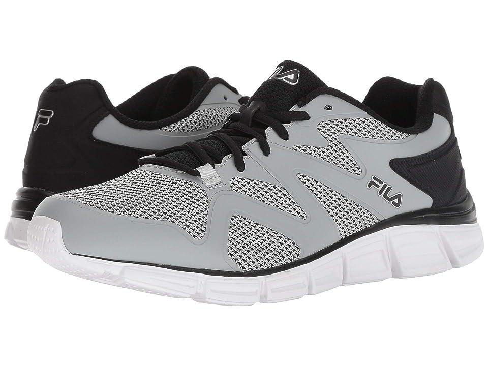 Fila Memory Cryptonic 2 Running (Highrise/Black/Metallic Silver) Men