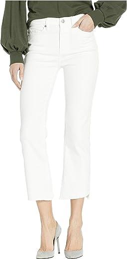 Denim Crop Flare Jeans