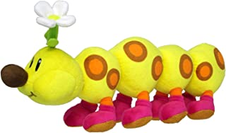 Little Buddy Super Mario Bros. All Star Collection Stuffed Plush 1593 Wiggler/Hanacha Toy, 13