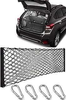 REVION Autoworks for 2018-2019 Subaru Crosstrek / 2017-2019 Subaru Impreza Trunk Storage Cargo Net Envelope Style | Organizer Accessories