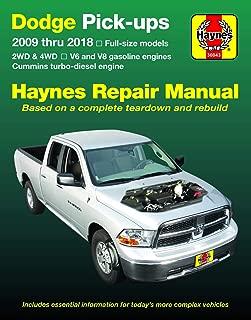 Dodge V6 & V8 Gas & Cummins turbo-diesel Pick-ups (09-18) Haynes Repair Manual (Does not include 2009 fleet models with the 5.9L diesel engine or the 3.0L V6 diesel engine.) (Haynes Automotive)