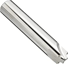 Melin Tool RMG Carbide Corner Rounding End Mill, Uncoated (Bright) Finish, Non-Center Cutting, 0 Deg Helix, 3 Flutes, 2