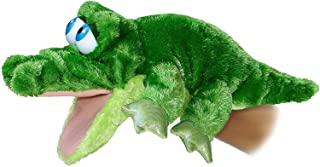 "Aurora 32180 14"" Grator The Alligator Body Plush Puppet, Multicolor"