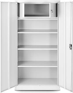 Armoire de bureau avec compartiment secret C001D armoire de rangement armoire métallique tôle d'acier revêtement en poudre...
