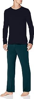 Schiesser Men's Long Life Soft Schlafanzug Lang Pajama Set