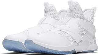 Lebron Soldier XI Mens Basketball Shoes (White/Pure Platinum Blanc/Platine Pur, 11 M US)