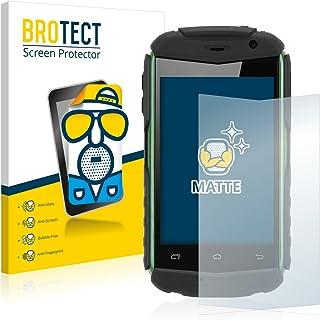 BROTECT Protector Pantalla Anti-Reflejos Compatible con Doogee Titans DG150 (2 Unidades) Pelicula Mate Anti-Huellas