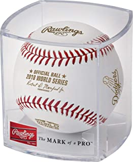 Rawlings 2018 World Series Dueling Teams MLB Baseball Red Sox vs Dodgers Cubed