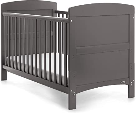 Obaby Grace Cot Bed  Taupe Grey