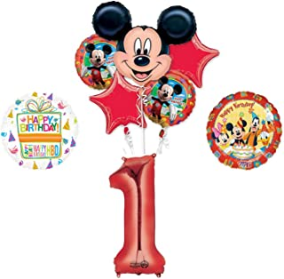 Mickey Mouse and Friends 1st Birthday Party Supplies and Balloon Decorations