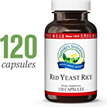 Nature's Sunshine Red Yeast Rice, 120 Capsules, Kosher | Helps Support The Production of Good Cholesterol in The Liver and Supports The Circulatory System
