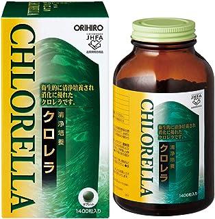 オリヒロ 清浄培養クロレラ 1400粒