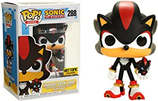 Funko Shadow w/ Chao (Hot Topic Exclusive) POP! Games x Sonic the Hedgehog Vinyl Figure + 1 Video Games Themed Trading Card Bundle [#288]