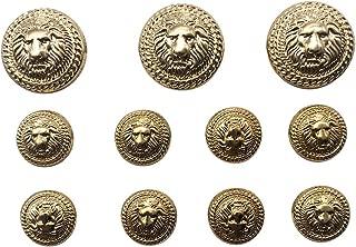 Best vintage gold metal buttons Reviews