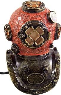Vintage Style Scuba Diving Helmet Lamp, 8 Inch