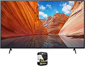 Sony KD55X80J 55 inch X80J 4K Ultra HD LED Smart TV 2021 Model Bundle with Premium 2 Year Extended Protection Plan