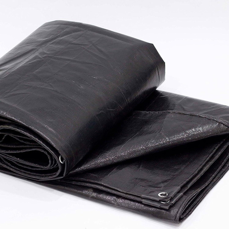 Outdoor Thick Black Tarpaulin, Cargo Sunscreen Insulation wearResistant car Tarpaulin high Temperature AntiAging