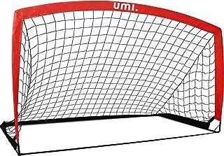 "UMI Amazon Brand Football Goal – Portable Football Net – 6'6""x3'3"""
