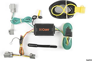 CURT 56093 Vehicle-Side Custom 4-Pin Trailer Wiring Harness for Select Ford Taurus, Lincoln MKS