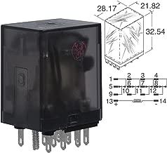 TE CONNECTIVITY/POTTER & BRUMFIELD KHAU-17A11-24 POWER RELAY, 4PDT, 24VAC, 3A, PLUG IN