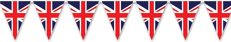 Beistle 59853 Union Jack Pennant Banner, 11