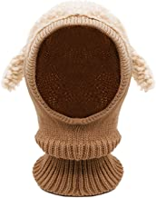 Bienvenu Baby Girls Boys Winter Hat Scarf Earflap Hood Scarves Skull Caps