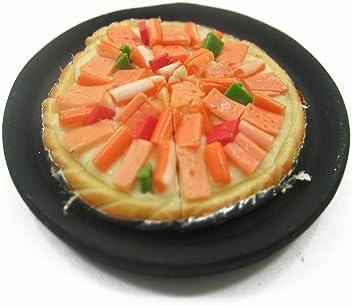 Orange Cream Pie On Tin Pans Dollhouse Miniatures Food Bakery